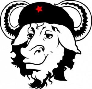 gnu-cap-hat-cow-clip-art