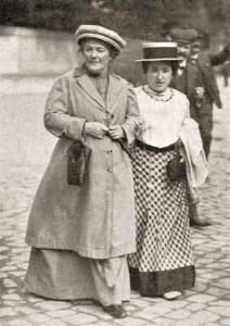 Clara Zetkin-Rosa Luxemburg-1910